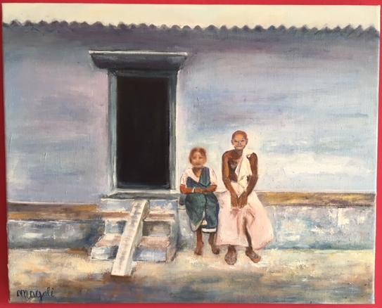 COUPLE D INDIENS   Vendu