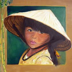 Jeune fille Lao  Vendue