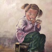 La fille au maïs