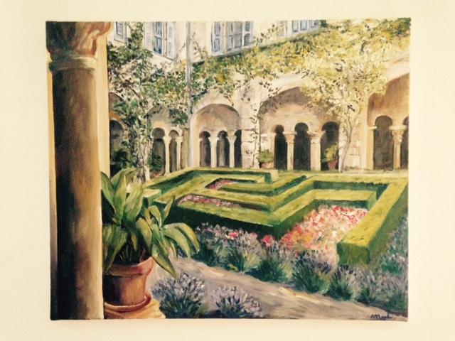 Le jardinn de Vincent  CP