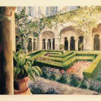 Le jardin de Vincent  CP