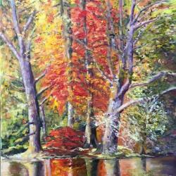 miroir d 'automne HUILE 61*46