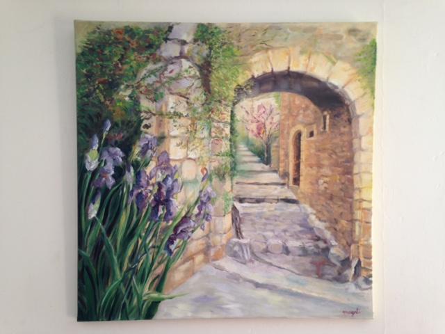 Montclus dans le Gard