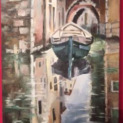 Venise et ses reflets II Toile vendue