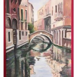 Venise et ses reflets III - 41*33 -  VENDU