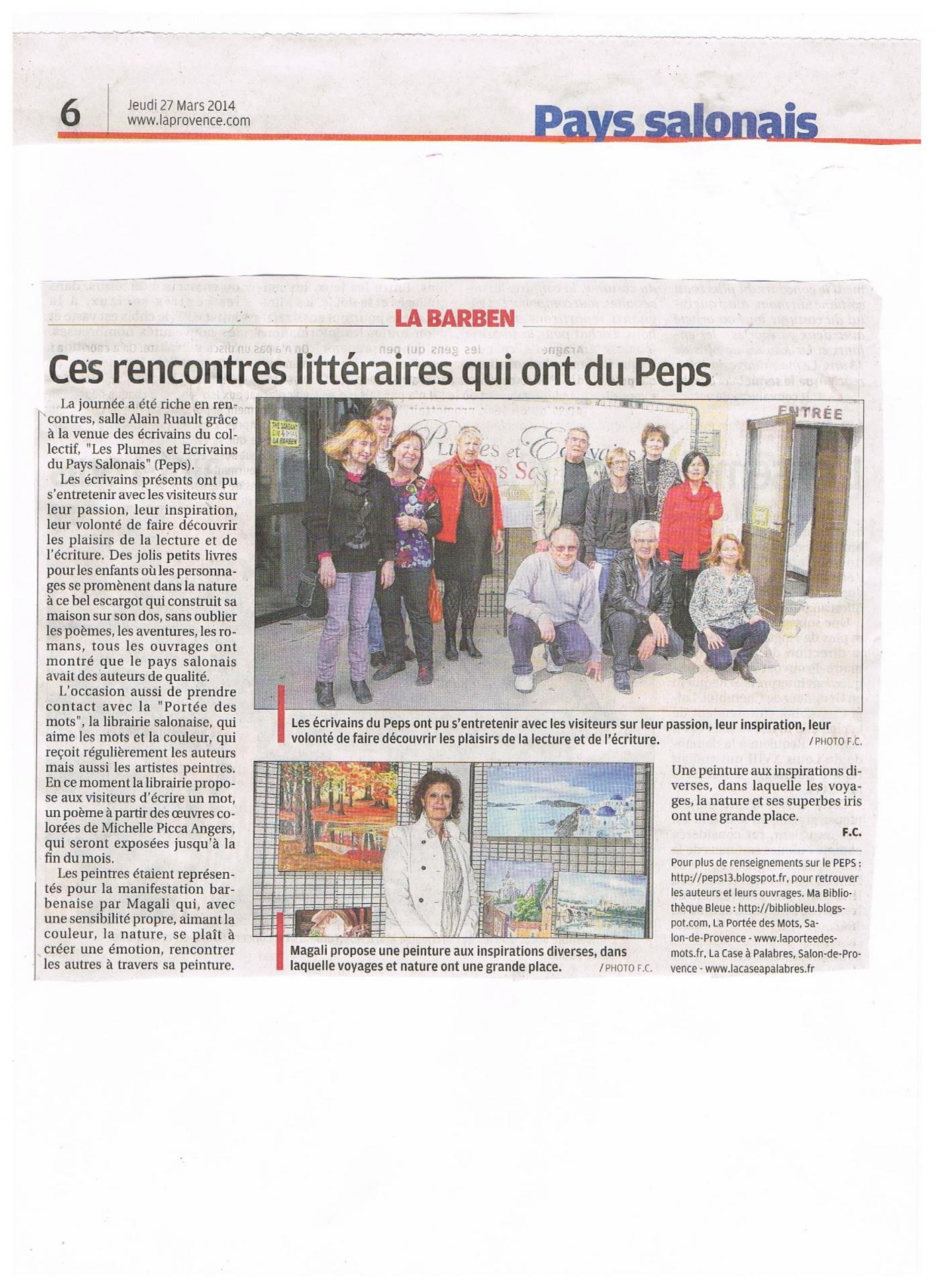 Article presse 03 2014